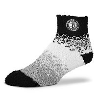 Women's For Bare Feet Brooklyn Nets Marquee Sleep Socks
