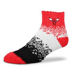 Women's For Bare Feet Chicago Bulls Marquee Sleep Socks