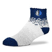 Women's For Bare Feet Dallas Mavericks Marquee Sleep Socks