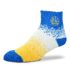 Women's For Bare Feet Golden State Warriors Marquee Sleep Socks
