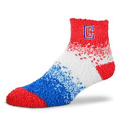 Women's For Bare Feet Los Angeles Clippers Marquee Sleep Socks