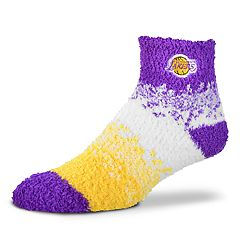 Women's For Bare Feet Los Angeles Lakers Marquee Sleep Socks
