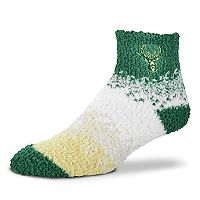 Women's For Bare Feet Milwaukee Bucks Marquee Sleep Socks