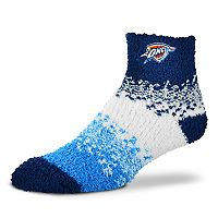 Women's For Bare Feet Oklahoma City Thunder Marquee Sleep Socks
