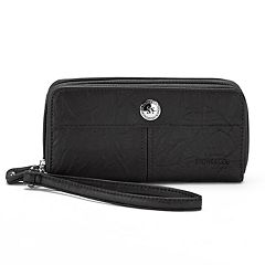 Stone & Co. Nancy Large Double Zip Around Wallet