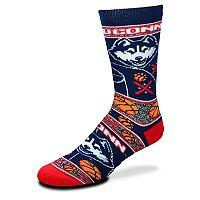 Adult For Bare Feet UConn Huskies Super Fan Crew Socks