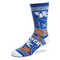 Adult For Bare Feet Kentucky Wildcats Super Fan Crew Socks