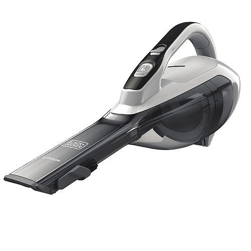 BLACK DECKER Lithium Cordless Hand Vacuum With Scented Filter HHVI320JRS02