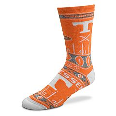 Adult For Bare Feet Tennessee Volunteers Super Fan Crew Socks