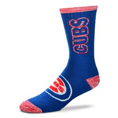 Adult For Bare Feet Chicago Cubs Crush Crew Socks