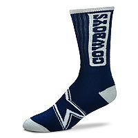 Adult For Bare Feet Dallas Cowboys Crush Crew Socks