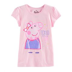 Girls 4-7 Peppa Pig 'Tickled Pink' Tee