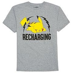 Boys 8-20 Pokemon Pikachu Tee