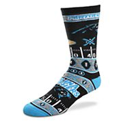 Adult For Bare Feet Carolina Panthers Super Fan Crew Socks