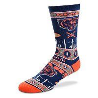Adult For Bare Feet Chicago Bears Super Fan Crew Socks