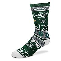 Adult For Bare Feet New York Jets Super Fan Crew Socks