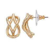 Dana Buchman Knot Drop Earrings