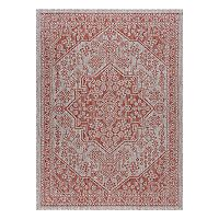 KHL Rugs Veranda Vaux Framed Floral Indoor Outdoor Rug