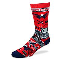 Adult For Bare Feet Washington Capitals Super Fan Crew Socks