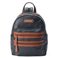 Stone & Co. Pebbled Leather Mini Backpack