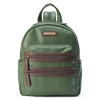 Stone & Co. Pebbled Leather Mini Backpack