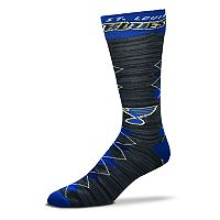 Men's For Bare Feet St. Louis Blues Fan Nation Crew Socks