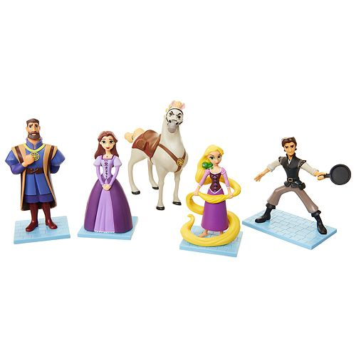 Disney's Tangled The Series Figure Set