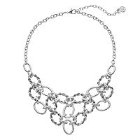 Dana Buchman Twisted Link Statement Necklace