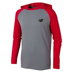 Boys 8-20 New Balance Hooded Performance Pullover Hoodie