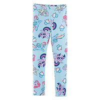 Girls 4-7 My Little Pony: The Movie Rainbow Dash, Twilight Sparkle & Fluttershy Leggings