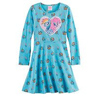 Girls 4-7 My Little Pony Rainbow Dash Flip Sequins Skater Dress