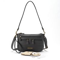 Stone & Co. Leather 4-Bagger Phone Charging Convertible Crossbody Bag