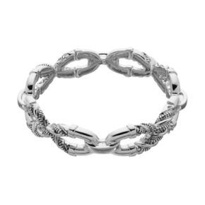 Dana Buchman Twisted Link Stretch Bracelet