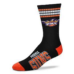Adult For Bare Feet Phoenix Suns Deuce Striped Crew Socks