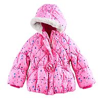 Toddler Girl ZeroXposur Heavyweight Polka Dot Melinda Jacket