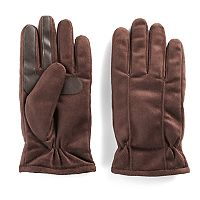 Men's Isotoner Brushed Microfiber smarTouch® smartDRI® Gloves