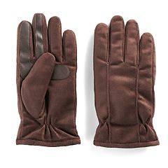 Men's isotoner Brushed Microfiber smarTouch® smartDRI® Gloves
