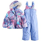 Toddler Girl ZeroXposur Cleo Jacket & Bib Snow Pants Set
