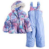 Toddler Girl ZeroXposur Cleo Jacket & Bib Snow Pants Set