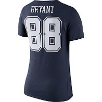 Women's Nike Dallas Cowboys Dez Bryant Player Pride Tee