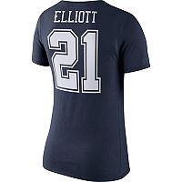 Women's Nike Dallas Cowboys Ezekiel Elliott Player Pride Tee