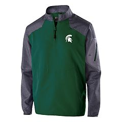 Men's Michigan State Spartans Raider Pullover Jacket