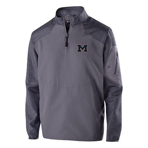 Men's Michigan Wolverines Raider Pullover Jacket