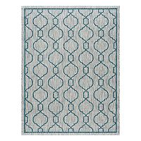KHL Rugs Veranda Villa Geometric Indoor Outdoor Rug