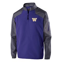 Men's Washington Huskies Raider Pullover Jacket