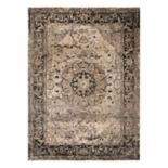 KHL Rugs Winslow Carl Framed Medallion Rug