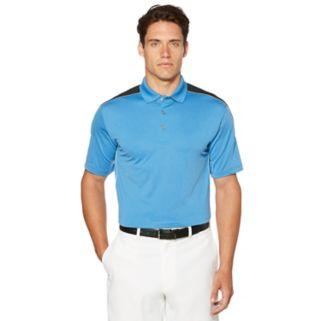 Men's Grand Slam Regular-Fit Motionflow 360 Colorblock Performance Golf Polo