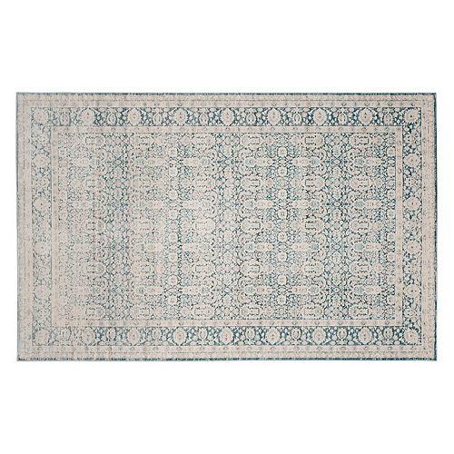 Safavieh Archive Mia Framed Floral Rug