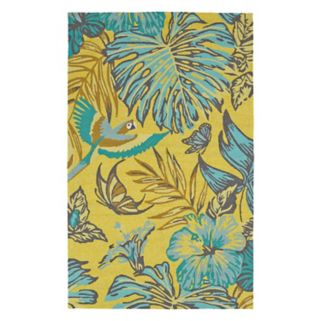 Kaleen Yunque Alpine Floral Indoor Outdoor Rug