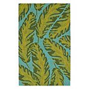Kaleen Yunque Kona Leaf Indoor Outdoor Rug